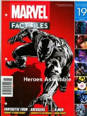 Marvel Fact Files #19 With Free Binder Eaglemoss Publications